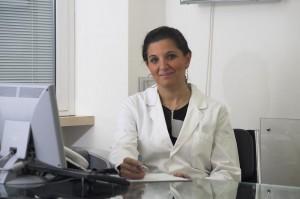 Dott.ssa Cristina Hreniuc, medico chirurgo-fisiatra